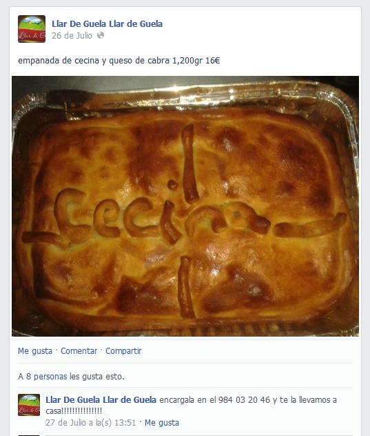 Empanada Cecina Llar De Guela
